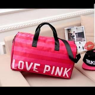 Victoria sercet pink旅行袋