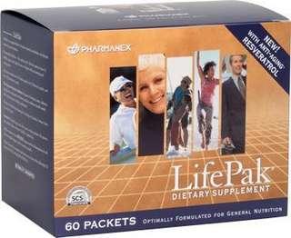 Nu skin lifepak(60 sachets)