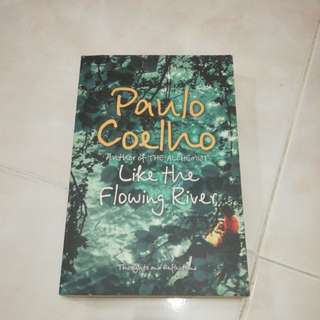 Like the flowing river, by Paulo Coelho (softcover)
