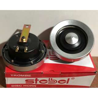 Euro Horn 14cm STEBEL Trombe Disc Car Horn 12V 3.5A