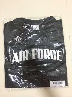 ($12) Airforce Round Neck Tee