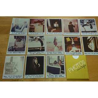 LOOKING FOR TAYLOR SWIFT 1989 POLAROIDS # 27 - 39 and # 53 - 65