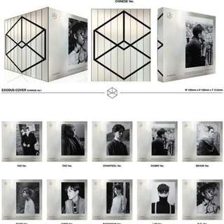 EXO EXODUS M version Sehun Album
