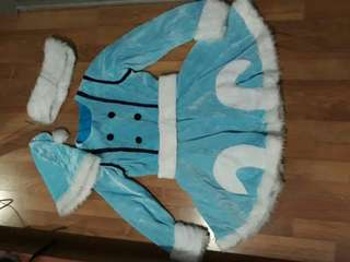 URGENT CLEARANCE Winter wonderland lulu league of legends cosplay costume