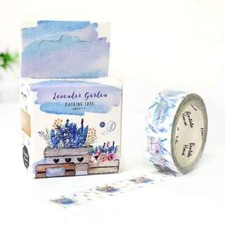 Washi Tape - Lavender Gardens