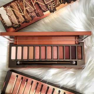 Naked Heat Eyeshadow Palette by Urban Decay
