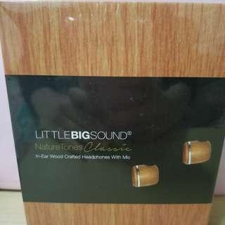 Little big sound 入耳耳機(木色)
