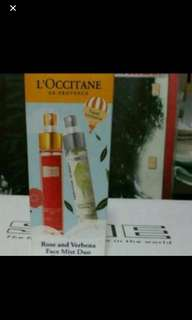 L'occitane Rose and Verbana Duo Face Mist