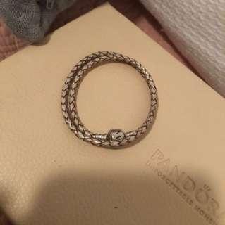 Pandora Leather Bracelet