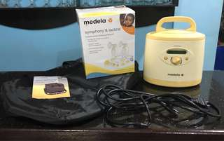 medela symphony hospital grade pump with a freebie