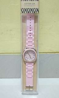 Cotton On Pink watch