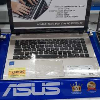 Kredit laptop asus bunga 0%