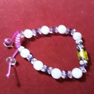 🚚 粉水晶手珠