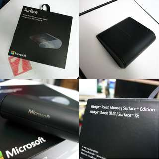 Microsoft Wedge Touch Mouse Surface Edition $65