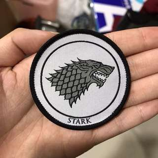 Game of Thrones Stark Iron On Patch
