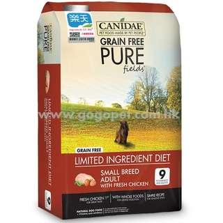 Canidae PURE 無穀物小型犬配方狗糧 4磅/12磅