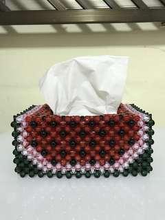 Handmade Watermelon Tissue Holder