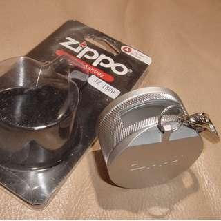 (銀色)日本版Zippo HA-18 便攜式煙灰缸 鎖匙扣JZ1800 超方便🏢難尋