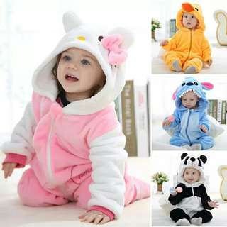 Baby Romper Infant Romper Baby Boys Girls Jumpsuit New born Bebe Clothing Hooded Toddler Baby Clothes Cute Animal Romper Bebe Ropa Costumes