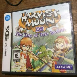 DS Game Harvest Moon The Tale of Two Towns