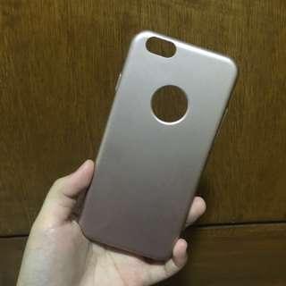 Iphone 6/s rose gold hard case