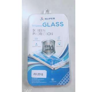 high quality tempered glass for samsung a8/a8+ 2018
