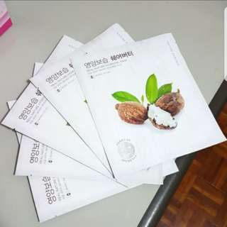 Nature Republic Hydrogel Mask Shea Butter