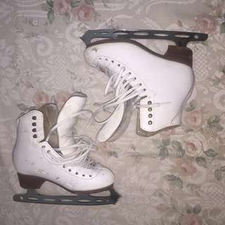 Jackson Ice Skates Figure Skating Freestyle with Shadow Blade Size 4A