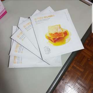 Nature Republic Hydrogel Mask Honey