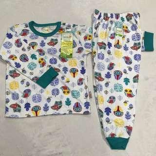 Velvet Baju Tidur Set Panjang XL