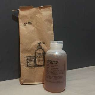 Le Labo Shower Gel / Gel Douche 250ml Hinoki / Sesame