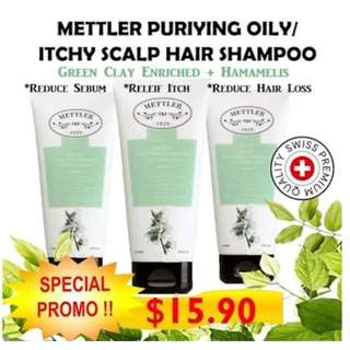 Mettler Purifying Oily/itchy Scalp Hair Shampoo