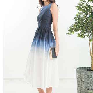 Brand New Ninth Collective Ombre Dress