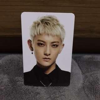 EXO TAO Overdose Album Card 黃子韜專輯小卡