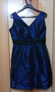 Lady's Blue/Black Dress