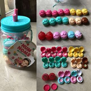 Nom nom lip balm & stamp 21pcs