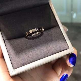 成品出爐💍Chaumet蜂巢18k黃金玫瑰金白金戒指❤️女朋友生日禮物對戒結婚戒指