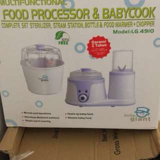 Little giant multifunctional food processor & babycook