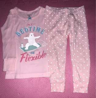 Preloved Carters Pajama