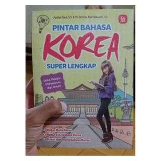 E07 - Buku Pintar Bahasa Korea Super Lengkap