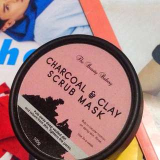 The Beauty Bakery Charcoal & Clay Scrub