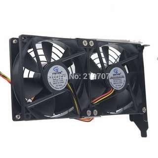Gpu extra cooling fan