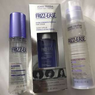 Frizz-Ease John Frieda hair products