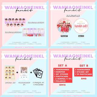 Wanna One in KL Fankit