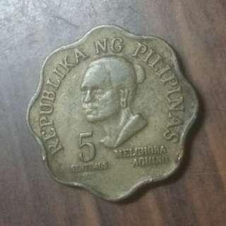 1979年菲律賓5分