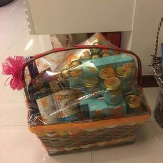 Bird Nest & Abalone & Wine & Ferrero Rocher Hamper