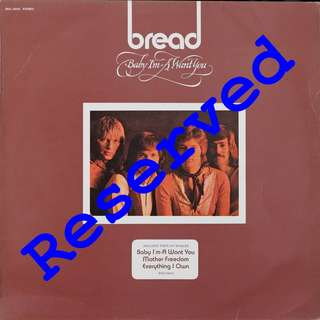 bread, Vinyl LP, used, 12-inch original pressing