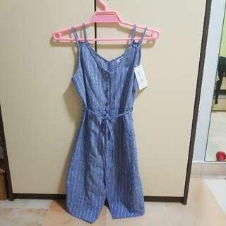 Brand New Temt Denim Dress