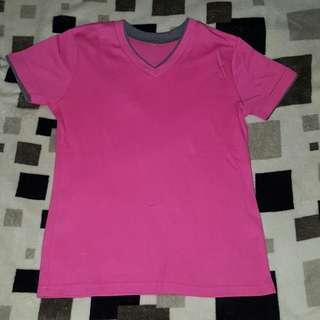 Pink plain shirt