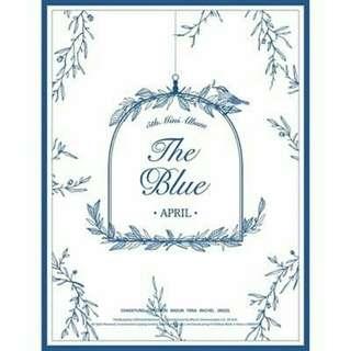 APRIL - THE BLUE